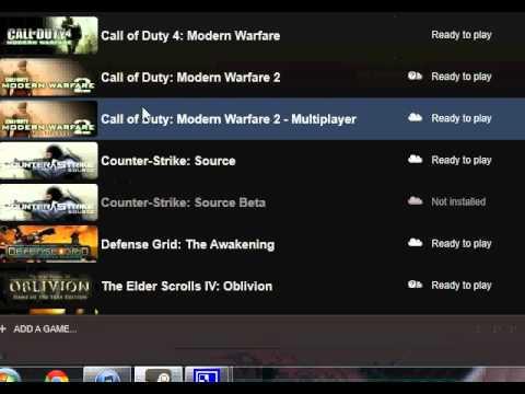 Steam Modern Warfare 2 Multiplayer Crash Fixed :D