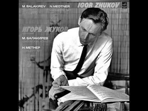 IGOR ZHUKOV plays MEDTNER Piano Concerto No.1, Op.33 (1973)