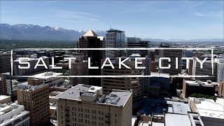 Salt Lake City, Utah   4K Drone Footage
