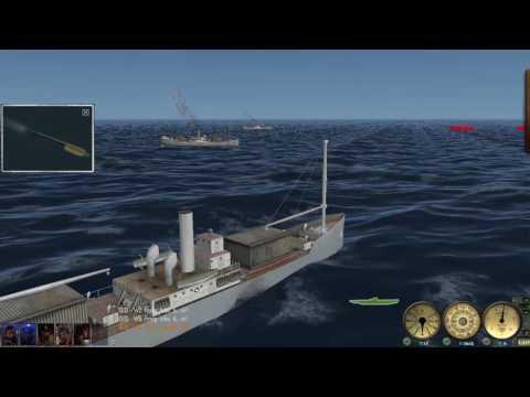 GWX/SH3 Sinking A Convoy