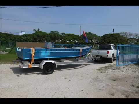 5 6m Aluminium Assault Boat Marlin Marine Prototype
