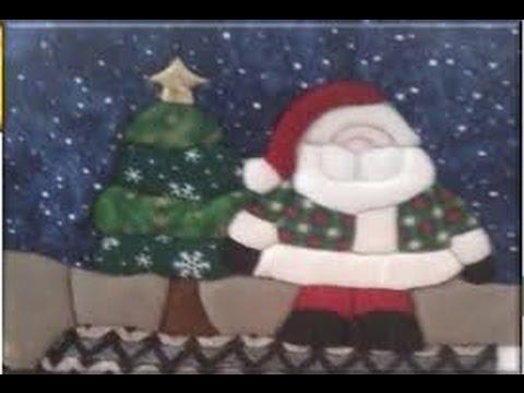 Como Hacer un Cuadro Navideño de Papa Noel - Hogar Tv por Juan Gonzalo Angel