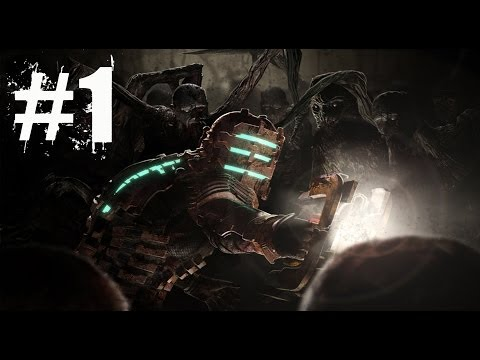 THE NIGHTMARE BEGINS - Dead Space 1 Walkthrough Gameplay Lets Play Playthrough