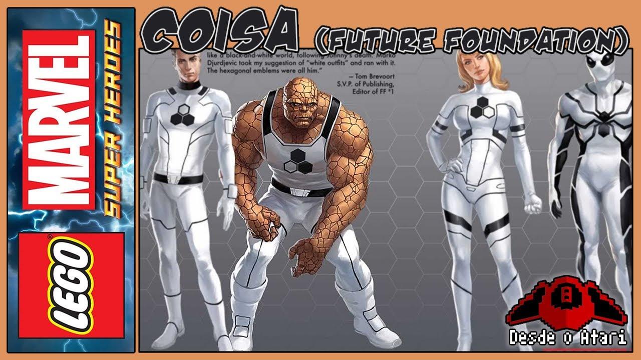 Lego Marvel Super Heroes   Desbloquear Coisa (Future ...
