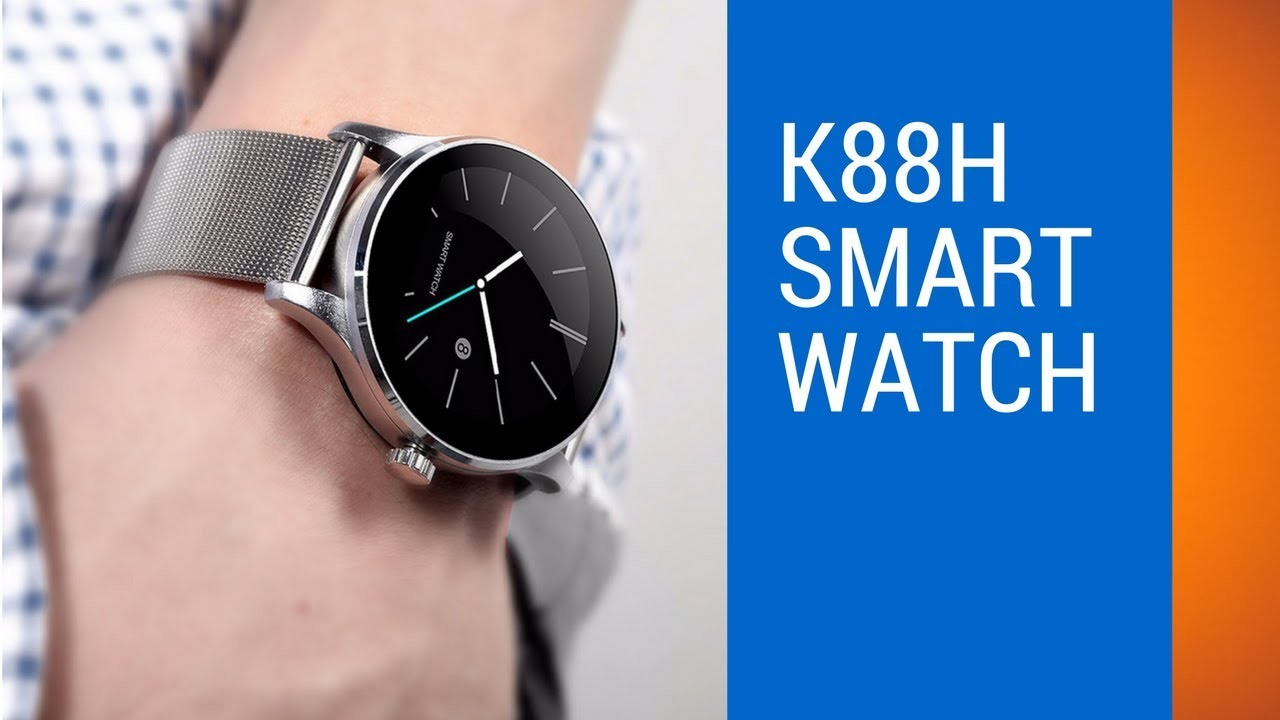 Best Cheap SmartWatch For Android | K88H Smartwatch Review
