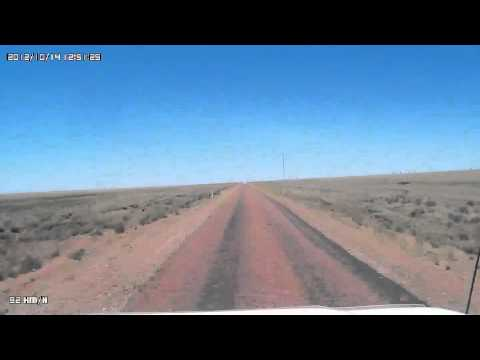 Video 326 Kennedy Developmental Road - Boulia to the Hamilton River (Channels).