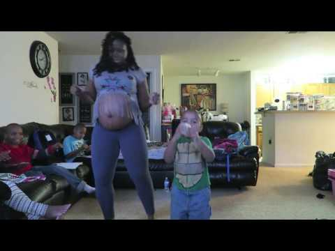Ba Mama Song Dance  38 Weeks Pregnant