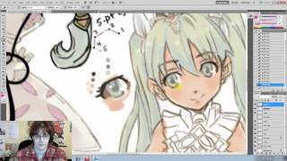 How To Draw: Rune Factory Part 3: Skin and Eyes