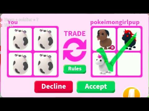 Trading Farm Eggs For Legendary Roblox Adopt Me Youtube