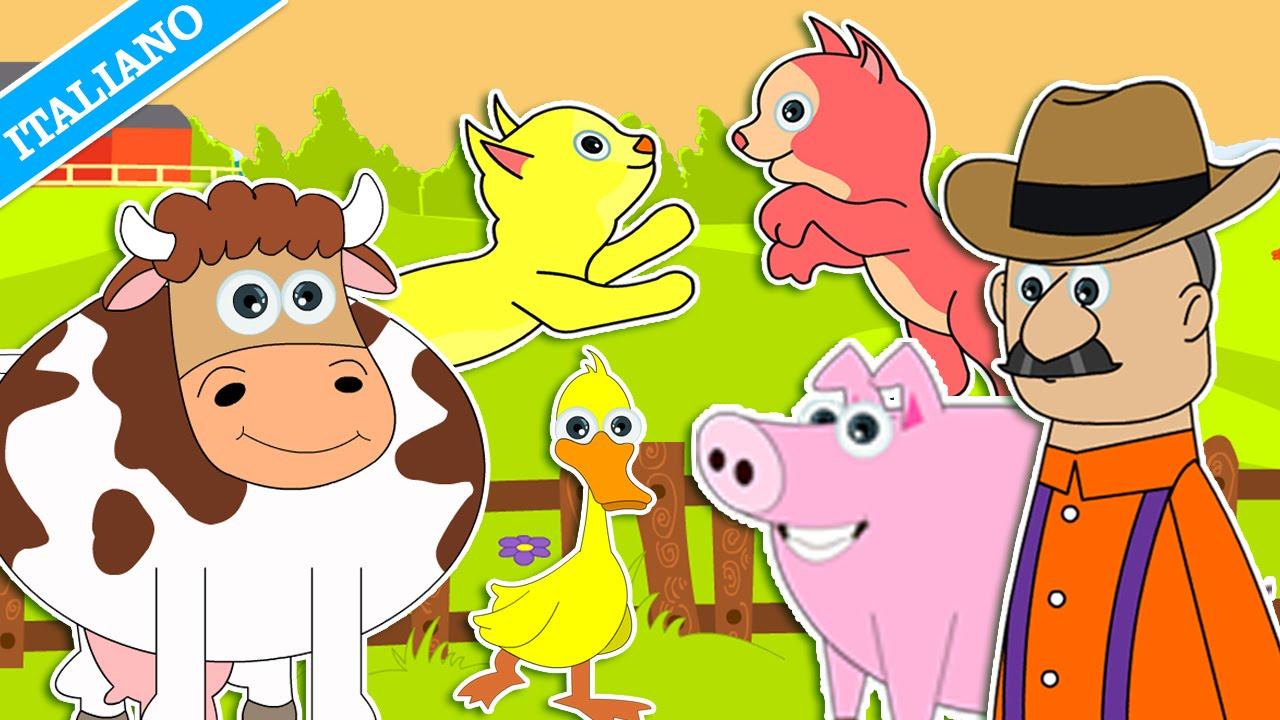 Nella vecchia fattoria canzoni per bambini di hooplakidz for Nuovi piani di vecchia fattoria