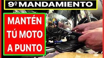 Imagen del video: LORENZO: 9º Mandamiento  Mantendrás tu moto en buen estado