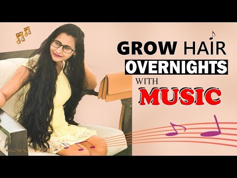 GROW HAIR OVERNIGHT WITH MUSIC | SUBLIMINAL HAIR GROWTH