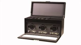Viceroy Triple Watch Winder With Storage