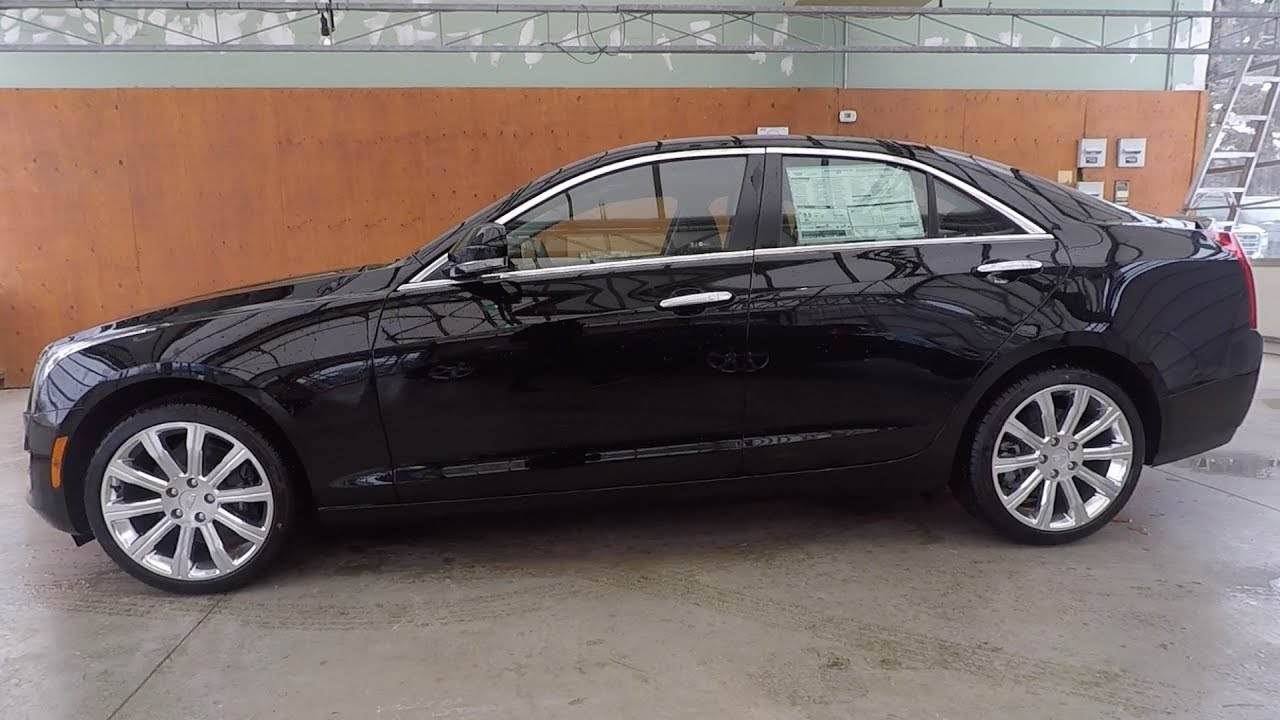 2018 Cadillac Ats Awd 2 0l Turbo Black Raven Youtube