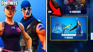*NEW* FREE SKINS + PLAYGROUND MODE RELEASE DATE in FORTNITE! (Fortnite Battle Royale - 5.1 UPDATE)