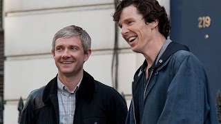 Benedict Cumberbatch Martin Freeman Take Me To Your Best Friends House