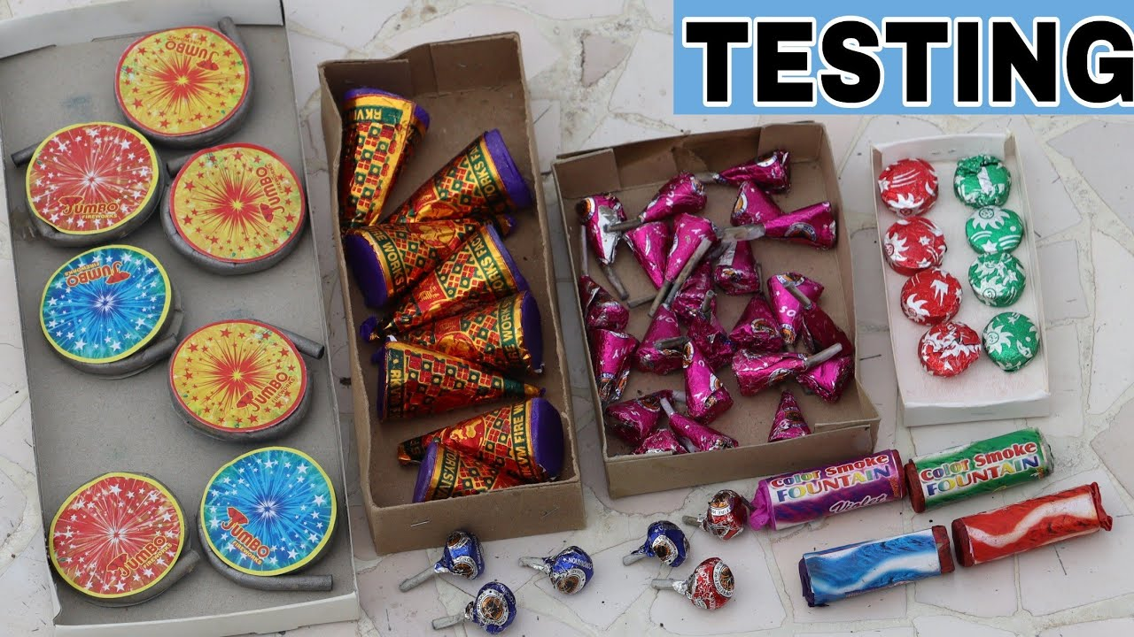 Different types of Crackers Testing    Crackers Testing Video 2020    Indian popular Crackers   