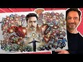 Tribute to ROBERT DOWNEY JR - Drawing 50 IRON MAN SUITS in FULL COLOR!