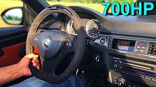 Going for a DRIVE in a ESS Supercharged BMW M3 *CATLESS EXHAUST*