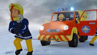 Sam el Bombero en Español 🌟Un héroe en la Nieve ❄️ Nuevos Episodios 🌟 Dibujos animados