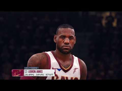 NBA Live 18-Cavaliers vs Boston Celtics|Ps4