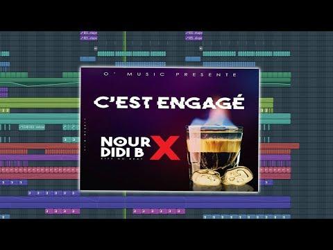 Nour ft Didi B - C'est Engagé Instrumental