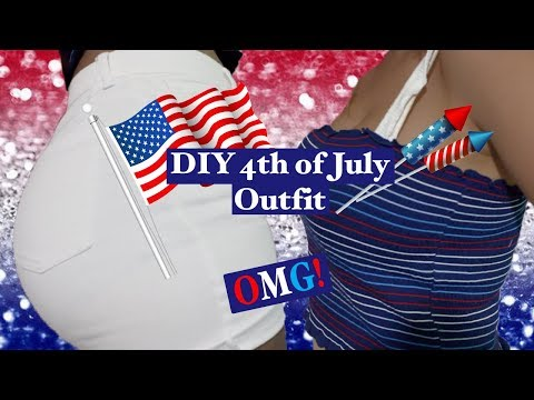 DIY 4th of July Outfit | Thrift Flip