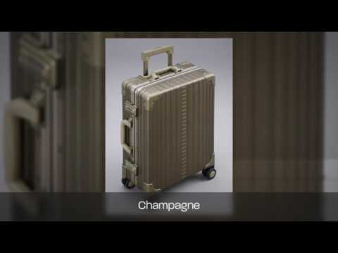 "Aleon Aluminum 21"" Classic Carry On"