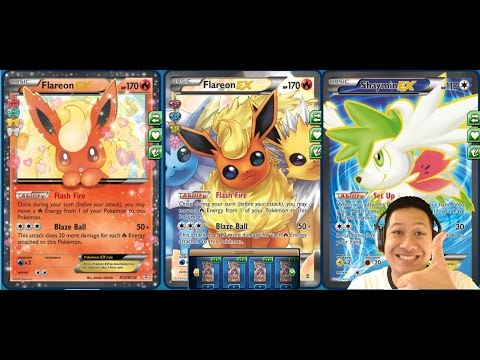 Freaky Fast Flareon Ex Deck Delivering Freaky High Damage with Freaky Cute Faces