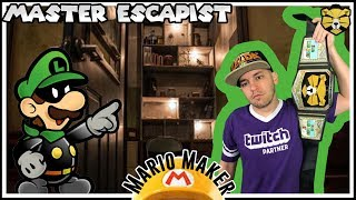 Escape Room V: Binary Is Hard Guys! Mario Maker