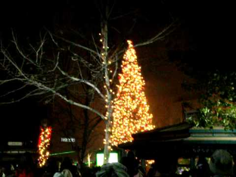 Christmas Tree Lighting Ceremony Victoria Gardens Rancho Cucamonga 2010