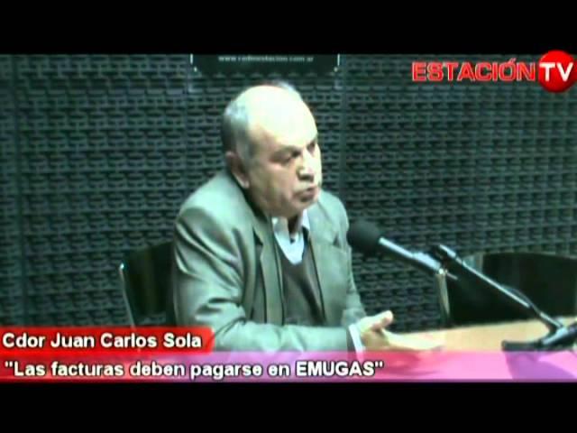 RADIO ESTACION Contador Juan C Sola Factura de EMUGAS