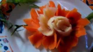 Przepis-Dekoracja potraw kwiatki kompozy...