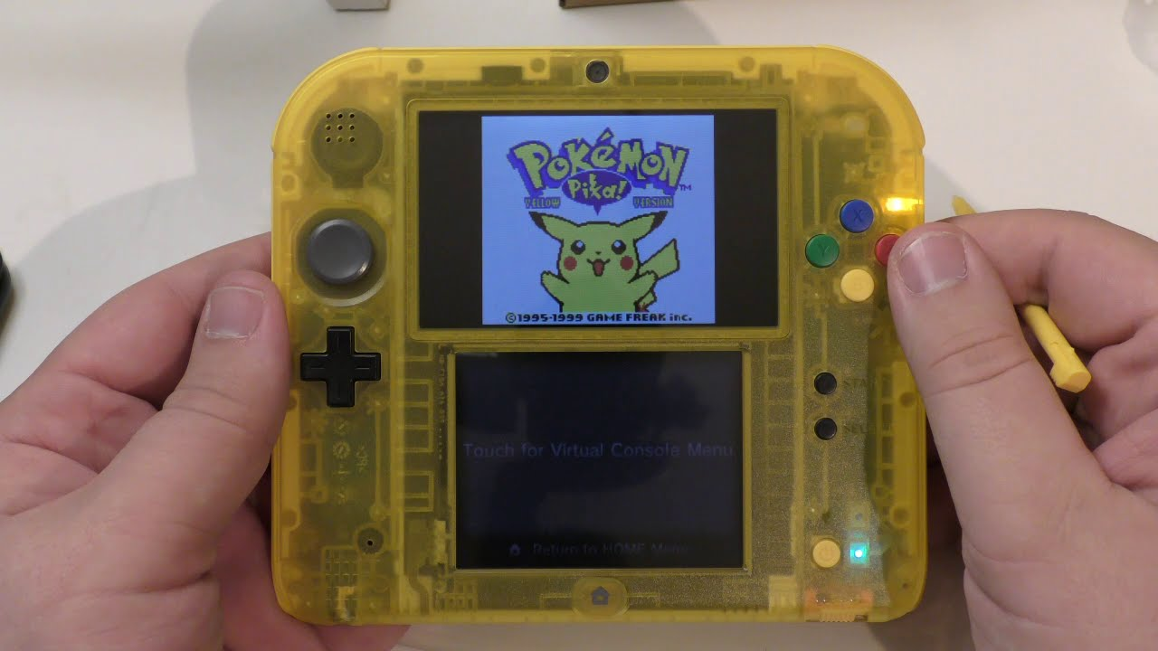 Unboxing 2ds Special Pikachu Edition Youtube