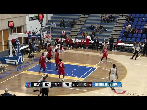 Joel Bolomboy posts 13 points & 13 rebounds vs. the Vipers, 12/16/2016