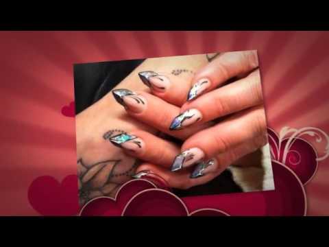 Дизайн ногтей миндалевидный - Kalivi