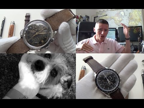 6 Month Omega Speedmaster FOIS Update - Tissot Janeiro Z199 Full Review -Triple Watch Unboxing