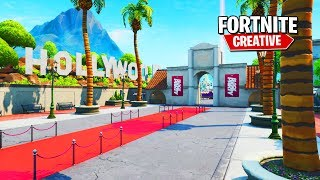 *NEW* HOLLYWOOD Movie Studio PROP HUNT in Fortnite + Codes