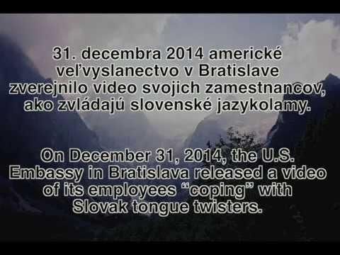 Američania po prvýkrát skúšajú rozprávať po slovensky // Americans Try Slovak for the First Time