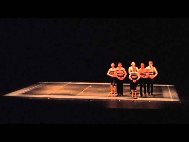 Compañía Tangokinesis en el Festival Cultural Sinaloa 2014 (17 Octubre 2014)
