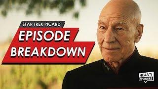 STAR TREK: Picard Episode 1 Breakdown + Ending Explained | Spoiler Review, Easter Eggs & Predictions