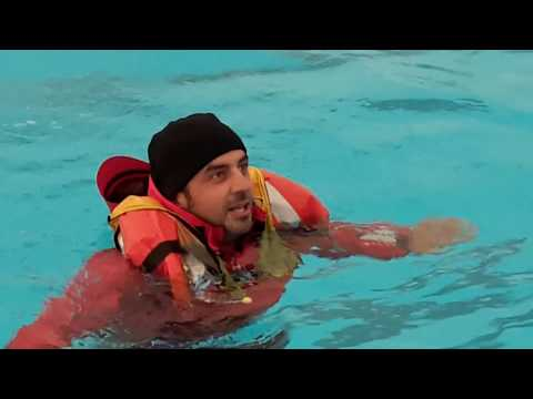 2015 11  ISAF Offshore Personal Survival Training Course
