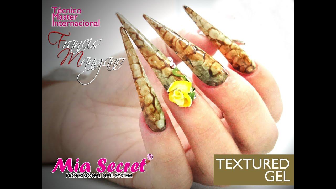 Efecto Serpiente | Textured Gel | Mia Secret - YouTube