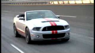Ford Shelby GT500 convertible 2011 Videos