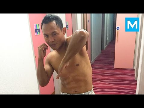 Saenchai Muay Thai Training & Fight Techniques   Muscle Madness