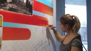 Динара Сафина в Центре молодежного парламентаризма