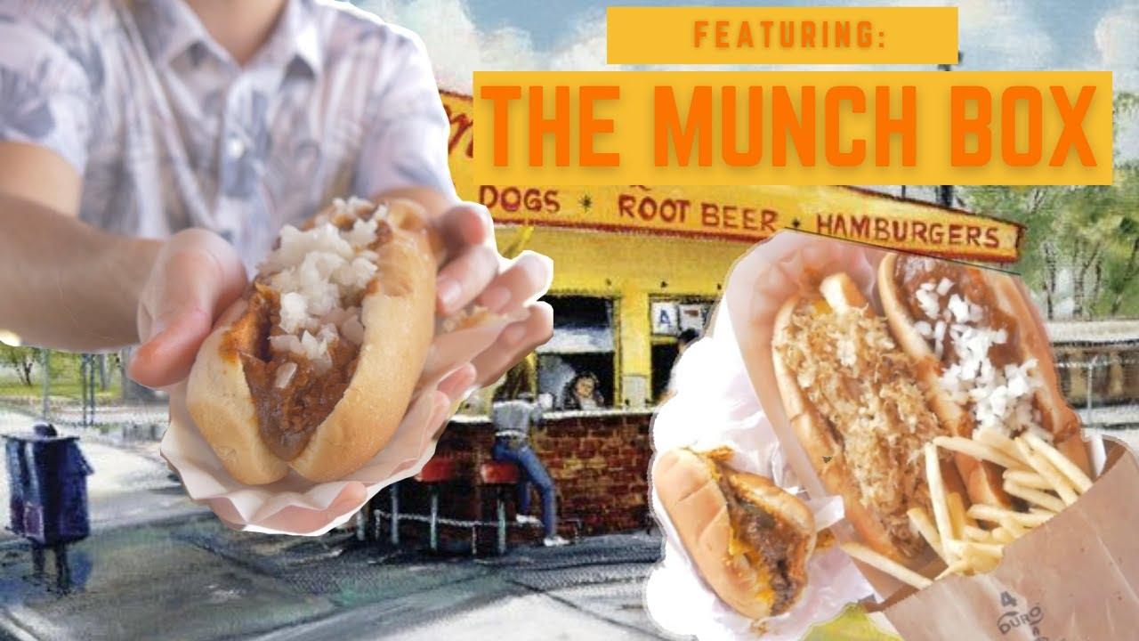 "50s' CHILI DOG at ""The Munch Box"" (Family Restaurant Spotlight)"