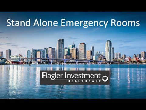 Stand alone Emergency Rooms