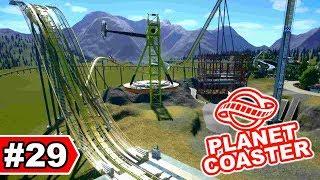 Projekt Baustelle: Im Bau!! - Planet Coaster Let's Play #29