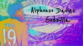 Alphonso Davies | Amazing Speed, Tackles And Goals | Eminem - Godzilla | 2019/20